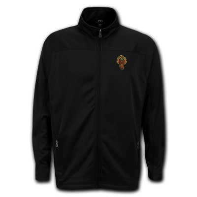 Picantes Black Full Zip Mirco Fleece Jacket
