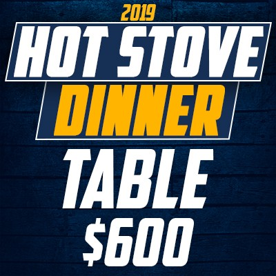 2019 Hot Stove - Table (seats 8)