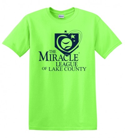 Miracle League Tee - Green S-XL