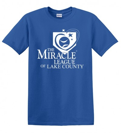 Miracle League Tee - Blue S-XL
