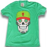 108 Stitches Sugar Skull Green- Picantes