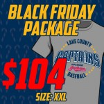 Black Friday XXL T-Shirt