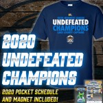 2020 Undefeated Champions T-shirt Package