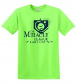 Miracle League Tee - Green XXL