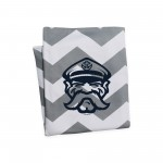 MV Throw Blanket - Grey Chevron
