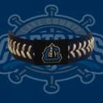 Captains Baseball Bracelet - Navy