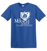 Miracle League Tee - Blue XXL