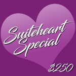Valentine's Suiteheart Special